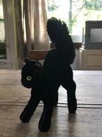 ドイツビンテージ シュタイフ steiff 黒猫 ぬいぐるみ 人形