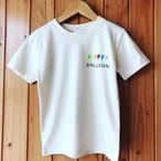 【受注制作】2パターン楽しめる!光る手描きTシャツ【BALLOON】