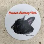 Bull.Tokyo オリジナル ステッカー Part.2 「- French Bulldog Club -」ブリンドル