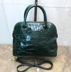 .2000000016658 BALLY CROCODILE LEATHER EMBOSSED 2WAY SHOULDER BAG/バリークロコ型押しレザー2wayショルダーバッグ