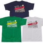 GUARD ガード Tシャツ マリンレスキューデザイン [MARINE RESCUE] s-197 メンズ アウトドア レスキュー ライフセービング