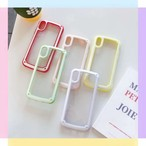 【オーダー商品】Macaron color iphone case