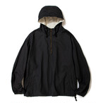 "Just Right ""Easy Anorak"" Fade Black"