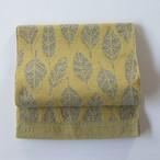hecco / happa [mimosa×gray] ウールのモコモコが秋冬の季節感 大人のへこ帯