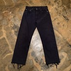 90s Levi's 501 Black Denim pants / USA