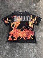 Vintage / Metallica fire pattern T