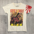 【送料無料 / ロック バンド Tシャツ】 GUNS N' ROSES / Men's T-shirts M ガンズ・アンド・ローゼズ / 銃と薔薇 メンズ Tシャツ M