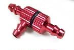 ◆カラーアルミフィルター付三角ジョイント SR型 カラー:レッド又はブル-