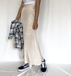 【即納】silklike skirt
