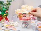 「おうちDEロールアイス」しろたんのクリスマスセット(限定クリスマスクリアファイル2枚セット付)