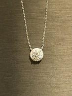 モアサナイト ダイヤモンド 1カラット 18k ネックレス