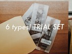 SHIPPING FREE  6 types trial set