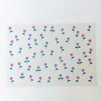 A4paper pink flower