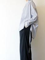 ドローストリングストライプシャツ/Hoochie Coochie