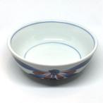 【砥部焼/梅山窯】鍋小鉢(赤菊)