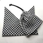 リネンの巾着とあづま袋セット