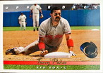 MLBカード 93UPPERDECK Tony Pena #185 RED SOX