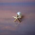 Starfish K18YG ピアス