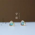 宇宙なピアス  【樹脂ピアス / イヤリング】