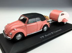 Cararama/カララマ VW ビートル ソフトトップ キャンピングカー付 ピンク