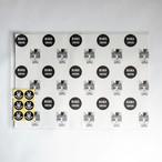 HANA circusオリジナル ラッピングペーパー 包装紙 A3サイズ 5枚セット