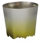 SHIKICOLORS Yellow green Rock Cup
