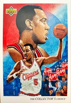 NBAカード 92-93UPPERDECK Danny Manning #40 CLIPPERS