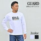 GUARD ガード CPR ロングTシャツ LS240 メンズ アウトドア レスキュー ライフセービング シャツ ロングTシャツ ロンT