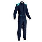 IA01828B244 FIRST-S SUIT MY2017 NAVY BLUE/CYAN