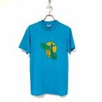 90's Hanes 50/50 GWRRA T-shirt made in USA size M Turqoise Blue