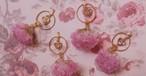 Heart Stone × Flower _ pierce