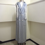 【ethical hippi】custom hoodie gilet(A) / 【エシカル ヒッピ】カスタム フーディ ジレ(A)