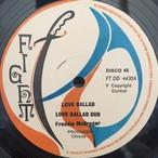 Love Ballad / Freddie McGregor
