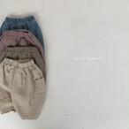 【予約販売】falling finger pants〈bella bambina〉