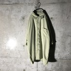 [used] light green cells designed half shirt