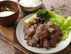 【一番人気】北海道産 特選 味付牛ハラミ彩 500g