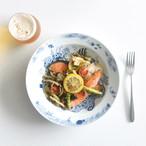 【波佐見焼】【natural69】【ココマリン】【cocomarine】【パスタ皿】 カレー皿 食器 北欧 おしゃれ 海の生物 水族館