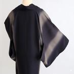 9857 新品◆単衣◆当店お仕立て◆縦ぼかし道中着