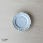[松尾 直樹]花形皿 SS(OP釉)