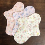 【セット価格】布ナプキン ローズガーデン 防水布付き