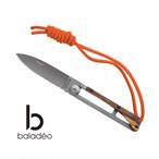 baladeo(バラデオ) Papagayo knife skinny bd-0320 アウトドア サバイバル キャンプ グッズ 半鋸刃 ナイフ 軽量
