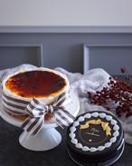 バスクチーズケーキ&アマンドショコラ