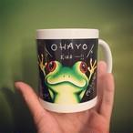 朝に使ってほしいカエルマグカップ!