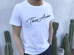 ThreeArrows Tシャツ(white×black)