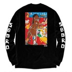 5BORO NYC  X  MONICA KIM GARZA CHINATOWN GIRL  LS Black L
