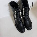 起毛パールウォーカー ウォーカー ウォーカーブーツ ブーツ  韓国ファッション