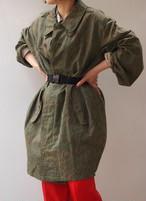 rain camo cocoon coat