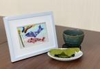 押し花作品「端午の節句 鯉のぼり」