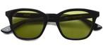 ZAPPA01【a】 (Shiny Black - Light Green lenses) / A.D.S.R.