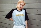 【UNISEX】No Prejudice raglan T-shirt